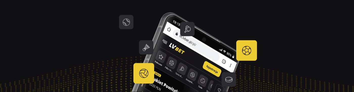 typowanie online w aplikacji mobilnej